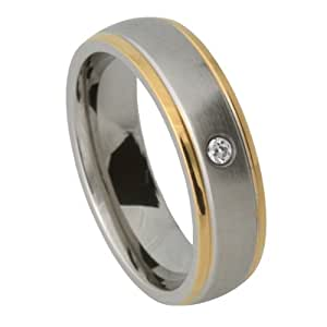 proposal ring, ring with free-of-charge engraving - Stainless Steel