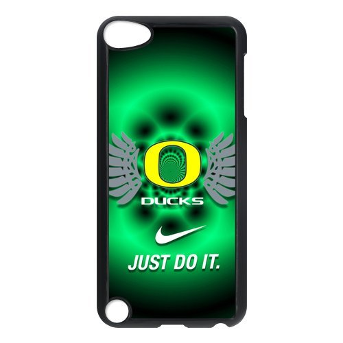 Forever Collectibles Oregon Ducks Graphics NCAA College TeamiPod Touch 5th Plastic Case Cover with NIKE JUST DO IT Logo