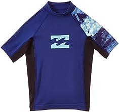 Billabong Edger T-Shirt manches courtes Garçon Bleu FR : 8 ans (Taille Fabricant : 8)