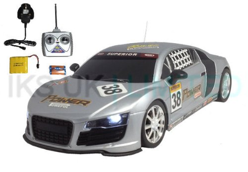 41Ipprb60GL Radio Remote Control Audi R8 Race Car RECHARGEABLE 20KPH