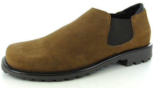 Donald J Pliner Usie 2 Mens Tan Suede Loafers Shoes 12