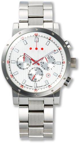 GSX (ジーエスエックス) 腕時計 SMART CHRONOGRAPH スマートクロノグラフ GSX223SWH-2 SMART no.86 メンズ