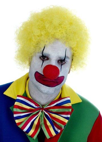 Imagen 1 de Blue Clown Wig. Costume Fancy Dress Clothing. (peluca)