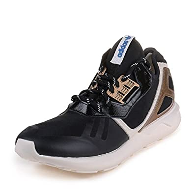 Amazon.com: Tubular Runner Mens in Black/White/Copper by Adidas: Shoes