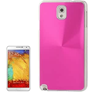 Crazy4Gadget CD Texture Metal Paste Skin Crystal Protective Case for Samsung Galaxy Note III / N9000(Magenta)