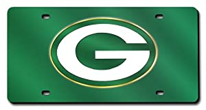 NFL Green Bay Packers License Plate Cover (Green) by Rico