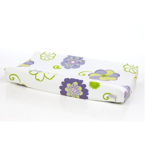 Sweet Potato Changing Pad Cover, Lulu front-1065545