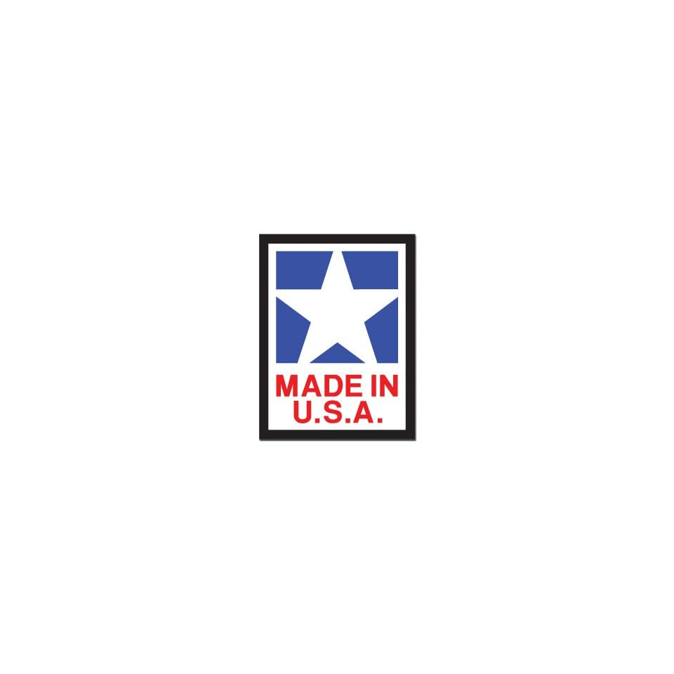 MADE IN USA   U.S.A Country Patriotic   Sticker Decal   #S308