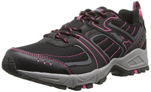 AVIA Women's Avi-Dell Running Shoe ,Black/Iron Grey/Zuma Pink,9.5 M US (Avis Shoes compare prices)