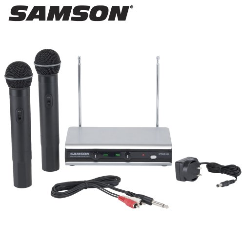 Samson Stage 266 Dual Handheld Wireless System (SW266SHT6U)