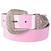Hailey Jeans Co Womens Western Style Rhinestone Belt