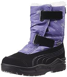 Puma Womens Acima NG GTX PS Black and Purple Mesh Boots - 9 UK /India (43 EU)