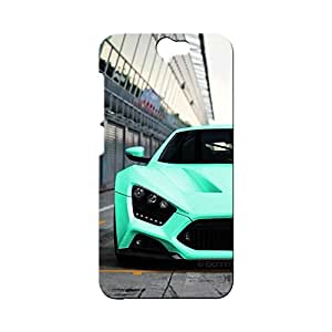BLUEDIO Designer Printed Back case cover for HTC One A9 - G1676