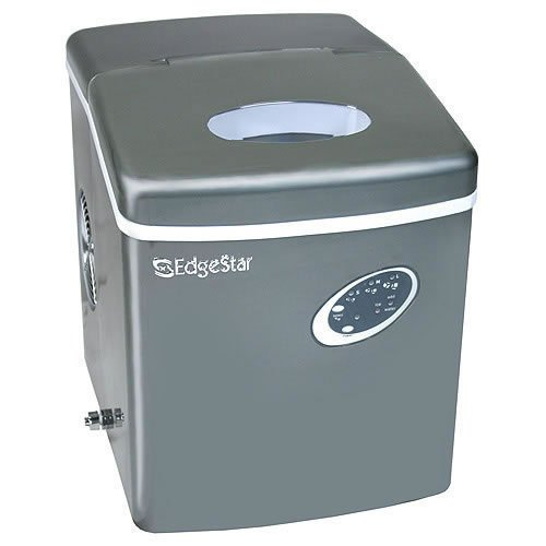 Edgestar IP210TI Titanium Portable Ice Maker, Gray