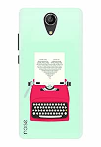Noise Designer Printed Case / Cover for Intex Aqua Freedom / Patterns & Ethnic / Love Typewriter Design