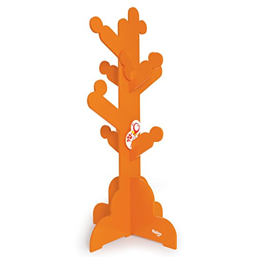 P'Kolino Little Ones Clothes Tree, Orange - 1