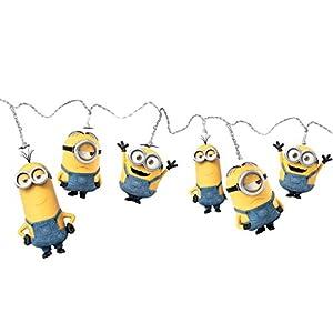 Spearmark 50472 Bob/Kevin and Stuart Plastic Minions String Lights, Yellow