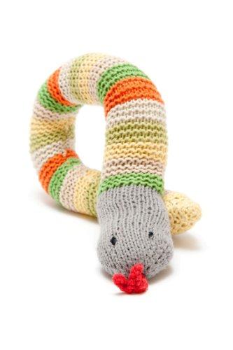 Snake Rattle - Green