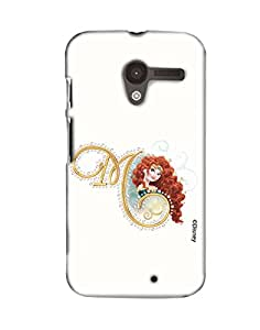 Pick Pattern Back Cover for Motorola Moto X (1st Gen.)
