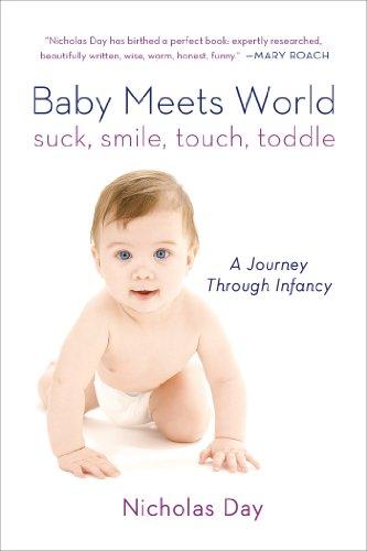 Baby Meets World: Suck, Smile, Touch, Toddle: A Journey Through Infancy поздравительная открытка suck uk world travel postcard