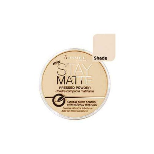 Rimmel Stay Matte Natural Shine Control Pressed Powder Silky Beige