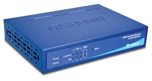 TRENDnet 4-Port VPN Firewall Router TW100-BRV204
