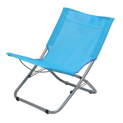 10T-Sunchair-Mobiler-Camping-Stuhl-Strandstuhl-faltbar-Textilene-hellblau-2700g-leicht