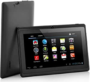 "DeerBrook 7"" Dual Core 1.5 Ghz Android 4.2 Tablet with Dual Camera, A23 Processor, Wifi- Black"