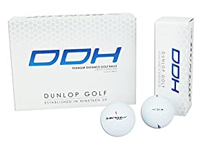 Dunlop Ddh Titanium Golf Balls (Pack of 12)