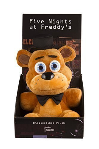 "Officially Licensed Five Nights At Freddy's 10"" Boxed Freddy Fazbear Plush Toy by SANSHEE"