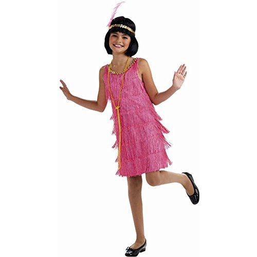 Little Miss Flapper Girl Kids Costume
