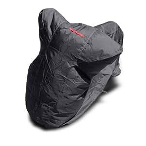 バイクカバー【3L】 耐熱 防水 厚手 溶けない 超撥水 オックス300D 蒸れない!盗られない!ビッグスクーター ハーレー等