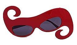 Funcart Swirly red Sunglasses