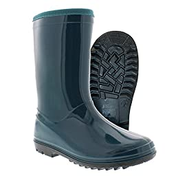 Itasca Kid\'s 683800 Puddle Hopper Rain Boot, Turqoise - 10M
