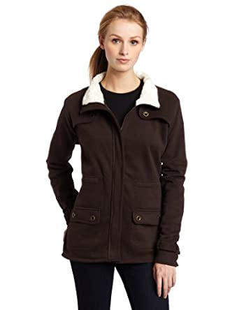 Carhartt Women's Sherpa Sweat Jacket,Dark Brown (Closeout),X-Small