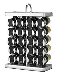 Martha Stewart Collection Space Saver Spice Rack, 20-Piece Set
