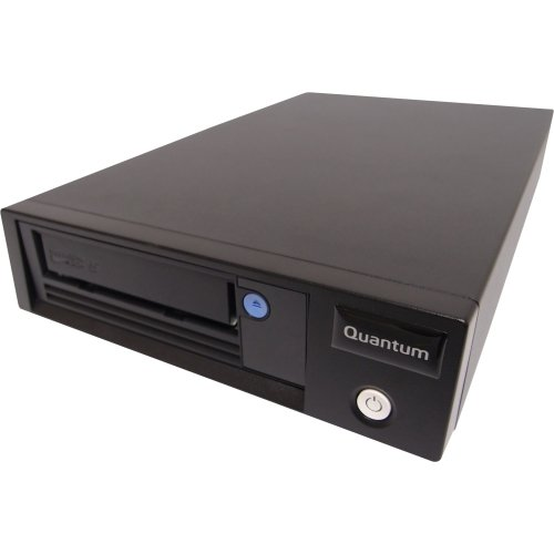 "Quantum Corporation - Quantum Lto-5 Half-Height Model C - Lto-5 - 1.50 Tb (Native)/3 Tb (Compressed) - Sas1/2H Height - Tabletop ""Product Category: Removable Drives/Tape Drives"""