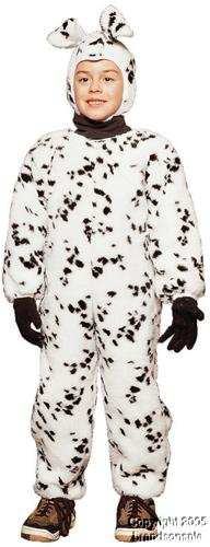 Dalmatian Jumpsuit - Plush Toddler Costume