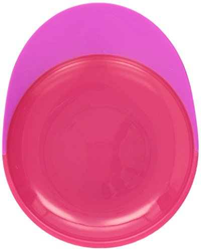 Boon Catch Plate With Spill Catcher Pink/Purple