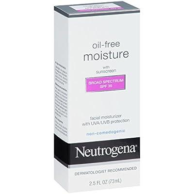 Neutrogena Oil-Free Moisture Facial Moisturizer SPF 35, 2.5 fl oz by Neutrogena