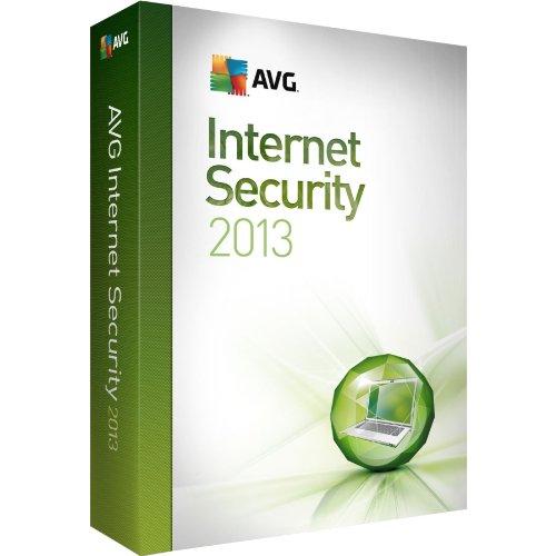 AVG Internet Security 2013 1 User 1 Year