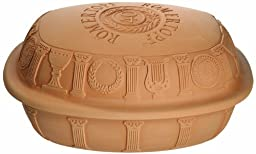 Romertopf 99140 Anniversary Glazed Clay Baker, Medium