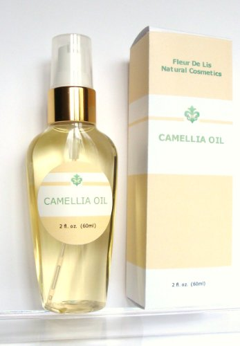 Camellia Oil 100%  Pure Cold Pressed, Organic 2oz / 60 ml. Anti Aging, Dry Skin, Acne Scars, Stretch Marks, Hair  Unscented Picture