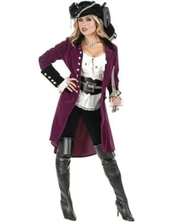 Amazon.com: Womens Pirate Vixen Plumberry And Black Velvet