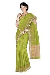 Srinidhi Silks Green Silk Sari (Ssi 2016 76 B)
