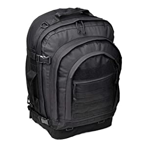 Sandpiper of California Bugout Backpack (Black, 22x15.5x8-Inch)