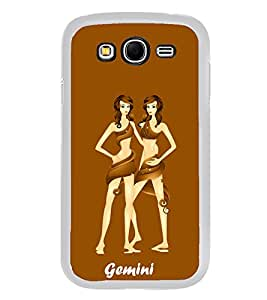Gemini 2D Hard Polycarbonate Designer Back Case Cover for Samsung Galaxy Grand I9082 :: Samsung Galaxy Grand Z I9082Z
