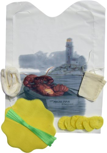 Regency Seafood Kit With Lemon Covers, Steamer Bags And Garni Bags