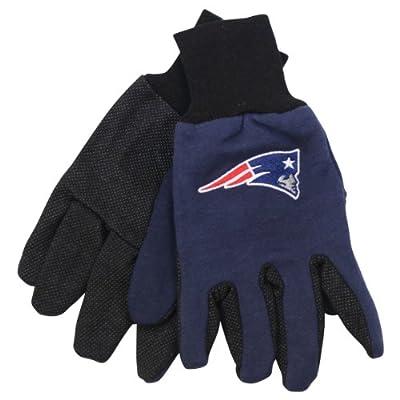 NFL Team Logo Grip Gloves - New England Patriots