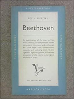 Beethoven Pelican Books J W N Sullivan Amazon Com Books border=